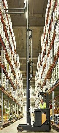 La produttività dei carrelli elevatori inizia dal pavimento del magazzino