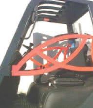 Sistemi di trattenimento dei carrelli elevatori cancelletti di sicurezza